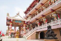 The beautyful Chinese shrine Stock Photo