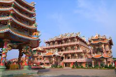 Beautyful Chinese temple Royalty Free Stock Images