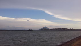 Beautyful clouds. Nice clouds in the sky beautyful in sri lanka Stock Photo
