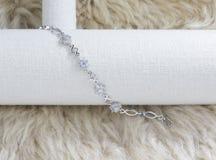 Beautyful diamond bracelet Stock Photo
