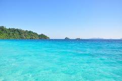 Beautyful hav Fotografering för Bildbyråer