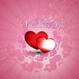 Heart in pink background. Beautyful heart in pink background for Happy valentine's Day festival Royalty Free Stock Image