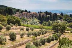 Beautyful-Italienerstadt lizenzfreies stockfoto