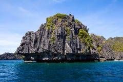 Beautyful lagoon , Philippines Royalty Free Stock Photography