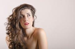 Beautyful latin naked girl Royalty Free Stock Photography