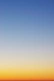 Beautyful sunrise sky stock photography
