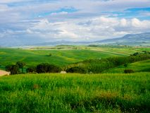 Beautyful Tuscany, panoramic landscape - Italy Stock Photography