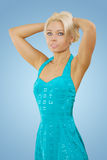 A beautyful young blonde Royalty Free Stock Photos
