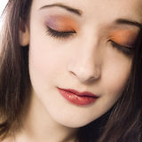 Beautyfull eyeshadow Royalty Free Stock Images