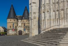 The Saint-Pierre Cathedral in Beauvais, France stock image