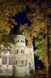 Beauvais (Picardie) bis zum Nacht lizenzfreies stockfoto