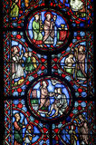 Beauvais (Picardie) - Cathedral, stained glass Stock Photos