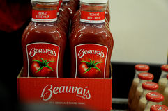 BEAUVAIS TOMATOS KETCHUP Royalty Free Stock Photography