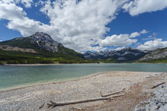 Beauvert Lake at Jasper Stock Photos