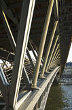 beauvoir De Footbridge simone Fotografia Stock