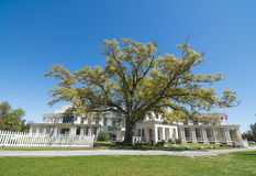 Beauvoir. The Jefferson Davis Presidential Library at Beauvoir in Biloxi, Mississippi on the Gulf of Mexico Stock Image