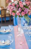 Beaux éléments de décoration de conception de cérémonie de mariage avec la voûte, Photographie stock