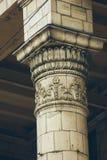 Beaux éléments sur la colonne Image stock