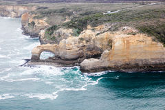 Beaux 12 apôtres célèbres dans l'Australie Photographie stock