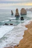 Beaux 12 apôtres célèbres dans l'Australie Images stock