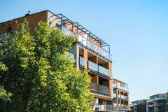 Beaux appartements de luxe modernes Photo libre de droits