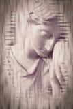 Beaux-arts de statue de femme Photos stock