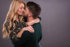 Beaux beaux couples Photos libres de droits
