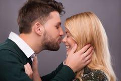 Beaux beaux couples Photographie stock libre de droits