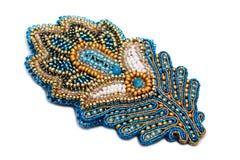 Beaux bijoux de concepteur faits main photo libre de droits