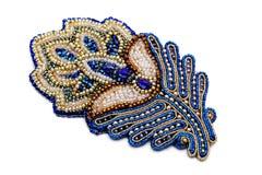 Beaux bijoux de concepteur faits main images stock