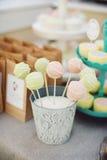 Beaux bruits de gâteau Image stock