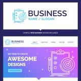 Beaux buts de marque de concept d'affaires, rapport, analytics illustration de vecteur
