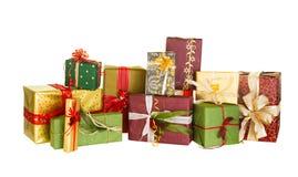 Beaux cadeaux de Noël Photo libre de droits
