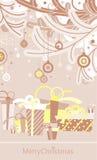 Beaux cadres 2 de Noël Photo libre de droits