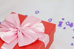 beaux cadres de cadeau Photos stock