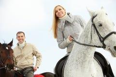 Beaux cavaliers photos libres de droits