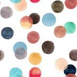Beaux cercles colorés lumineux transparents merveilleux tendres artistiques abstraits Photos libres de droits
