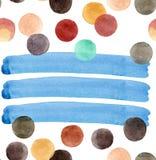 Beaux cercles colorés lumineux transparents merveilleux tendres artistiques abstraits Images libres de droits