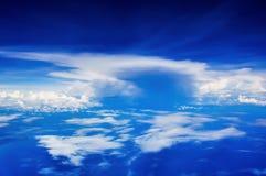 Beaux cieux bleus Photos libres de droits