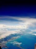 Beaux cieux bleus Image libre de droits