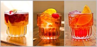 Beaux cocktails classiques Image libre de droits