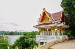 Beaux complexe et plage de temple en île de Samui Photo stock