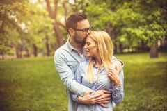 Beaux couples Photographie stock