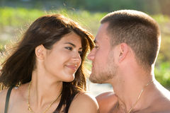 Beaux couples Photo stock