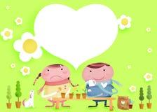 Beaux couples illustration de vecteur
