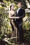 Beaux couples Photographie stock