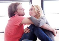 Beaux couples Photo libre de droits