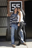 Beaux couples photo stock