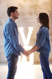 Beaux couples Image stock