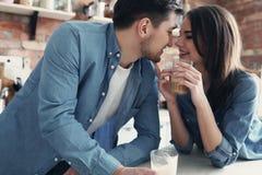 Beaux couples Images libres de droits
